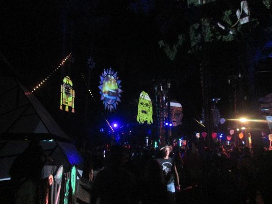 Bühne im Wald 1