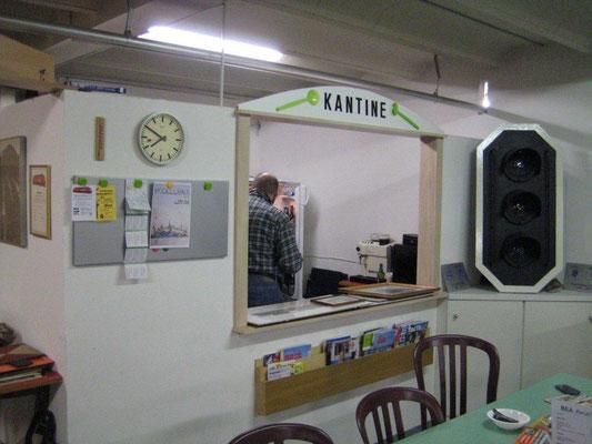 """Die Vereinseigene """"Kantine"""", Foto R. Schwob"""