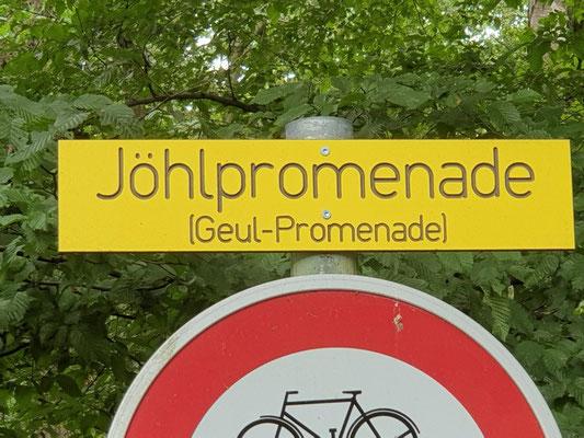 Zugang Göhlpromenade
