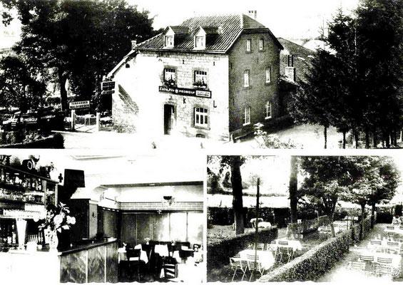 Cafe Grassmann-Lux um 1960