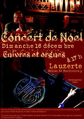 Affiche pour les concerts de l'association Atelier Musical Européen, réalisation Sandra Clerbois
