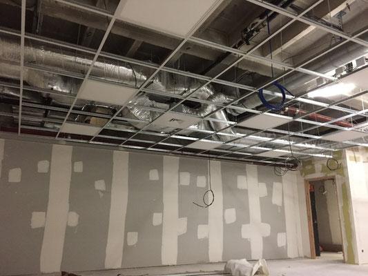 Réseaux en faux plafond