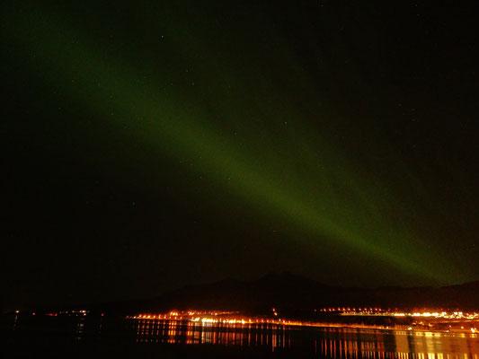 Nordlichter in Akureyri