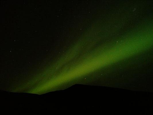Nordlichter Akureyri Island