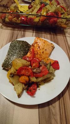 Grillgemüse für Mama und Papa