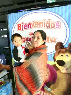 Foto enviada por Annel - México - Masha y el oso