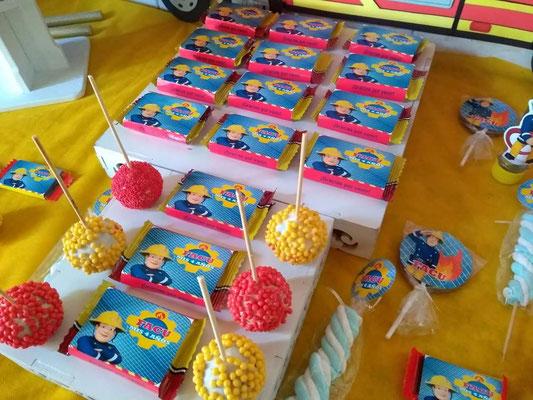 Foto enviada por Eugenia - Argentina - Bombero Sam - Candy bar