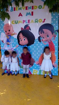 Foto enviada por Maricruz - México- La Familia Telerín