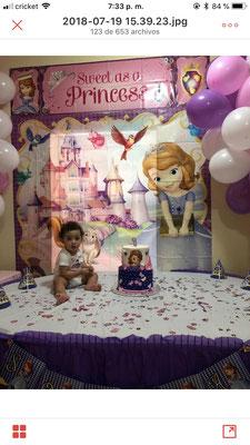Foto enviada por  Milenys - EEUU - Princesita Sofía