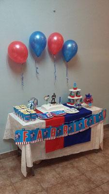 Foto enviada por Eugenia - Argentina -Capitán América