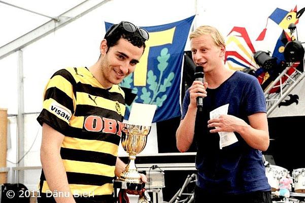 Urs Sahli@ Moderation Bümplizer Chiubi Cup 2011