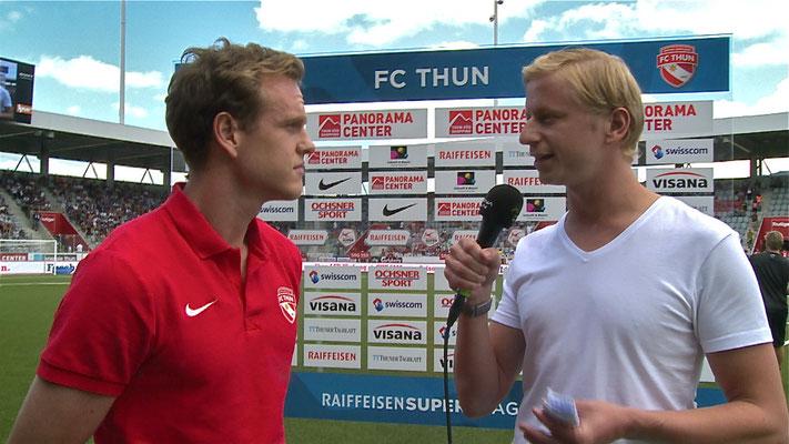 Urs Sahli @ FC Thun, Moderation Arena Thun