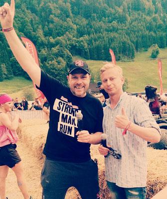 Urs Sahli und Markus Hoffmann @ Fishermans Friend Strongmanrun 2014 Engelberg