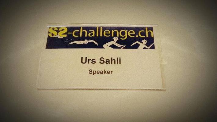 Urs Sahli @ www.s2-challenge.ch