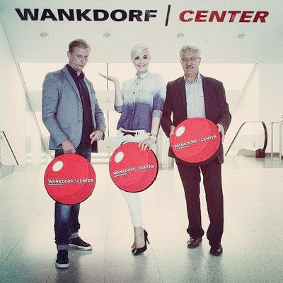 Urs Sahli, Dominique Rinderknecht und Peter Baumgartner.
