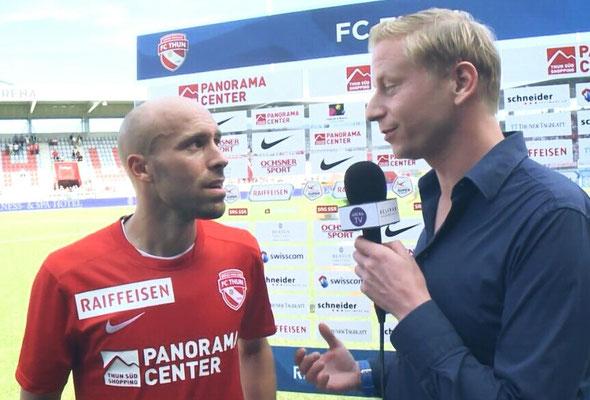Urs Sahli und Thomas Reinmann FC Thun