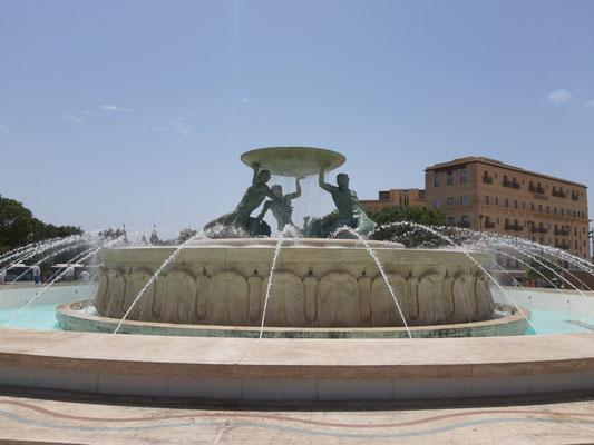 Triton Brunnen, Valletta