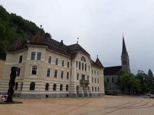 Regierungssitz in Vaduz