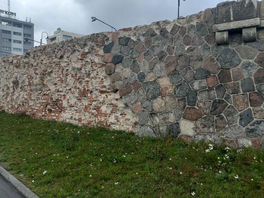 Mauerreste des Westflügels des Königsberger Schlosses, Kaliningrad