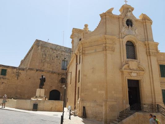 Die Siegeskirche, Valletta