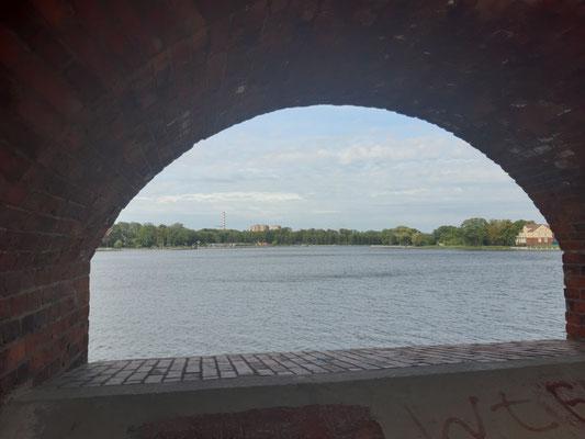 Blick auf den Oberteich, Kaliningrad