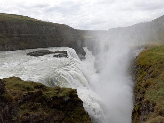 Gullfoss - Wasserfall