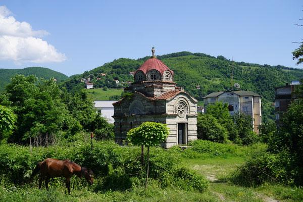 serbische Kirche in Kacanik
