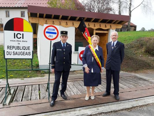 Zöllner, Präsidentin und Chauffeur