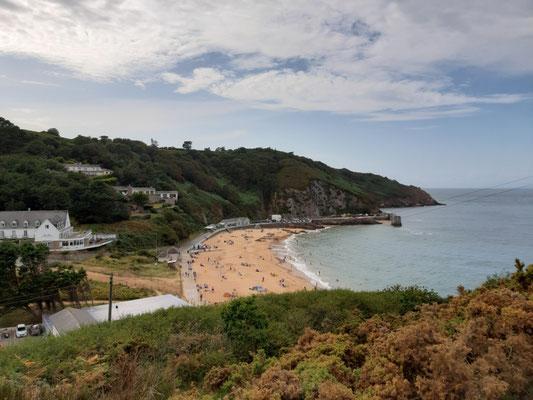 Strand bei Greve de Lecq