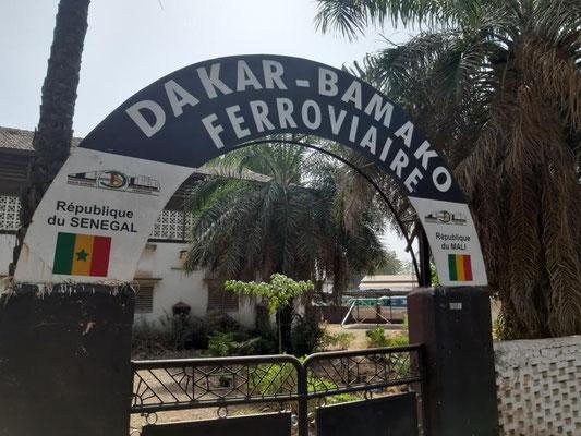 Die historische Bahnstrecke Dakar - Bamako