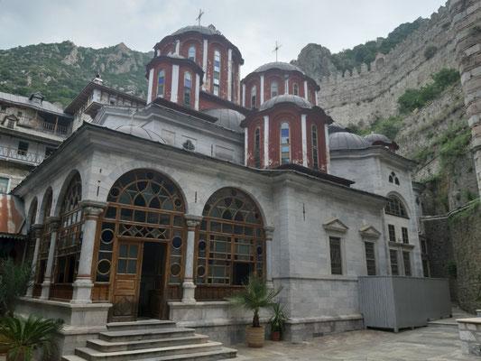 Im Kloster Agios Pavlos