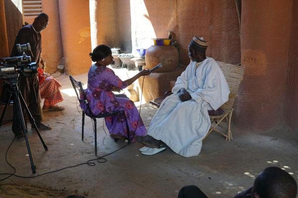 Interview mit dem Dorf-Chef