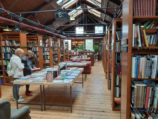 Im Richard Booth Buchladen