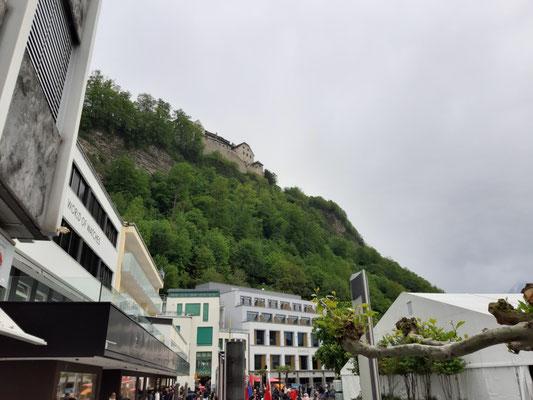 Schloss von Vaduz aus