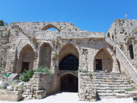 Auf der Burg in Girne (Kyrenia)