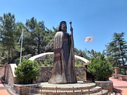 Makarios Monumentalstatue