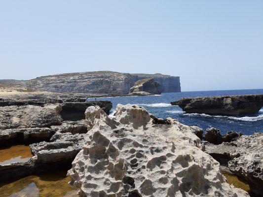 Am Meer auf Gozo
