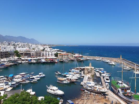 Der Hafen von Girne (Kyrenia)