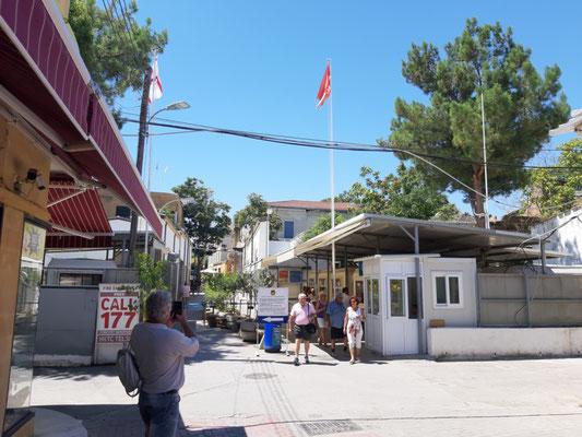 Kontrollpunkt Ledra Str., türkische Seite