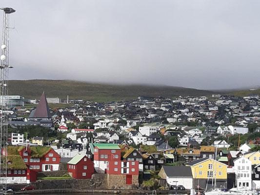 Blick auf Torshavn