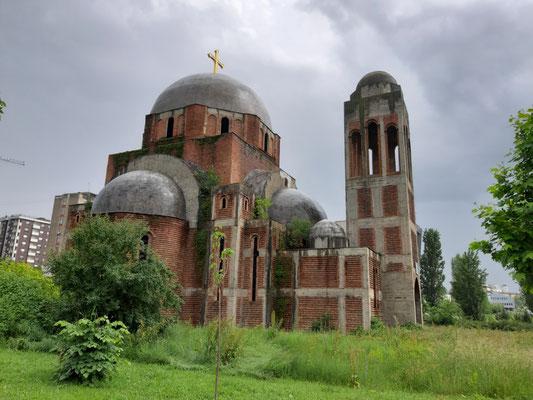 serbische Kirche in Pristina