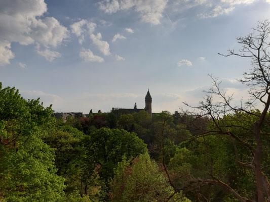 Blick über das Petrusse-Tal