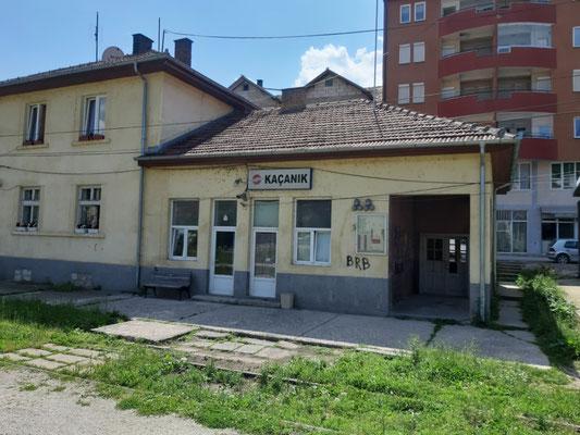 alter Bahnhof Kacanik