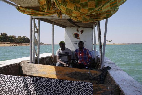 auf dem Niger zwischen Alt-Segu und Segu