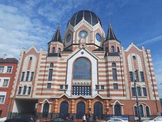 Wieder aufgebaute Synagoge, Kaliningrad