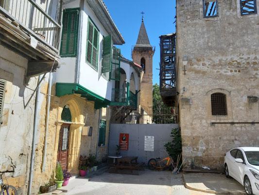 An der Pufferzone, Nikosia (Lefkosia),Nikosia