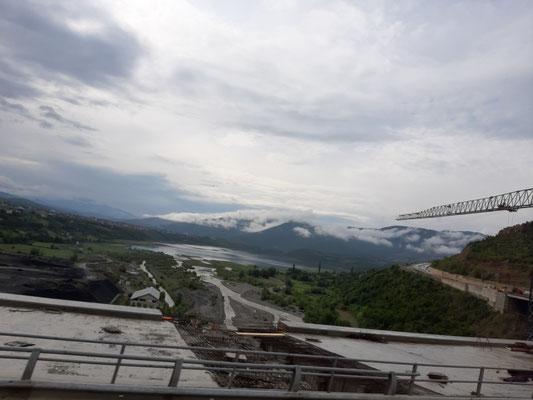 unterwegs von Tirana zur Grenze