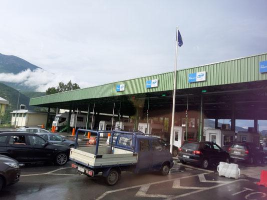 an der Grenze zum Kosovo