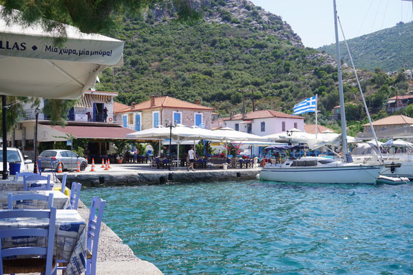 Agios Kiriakis auf der Halbinsel Pilion