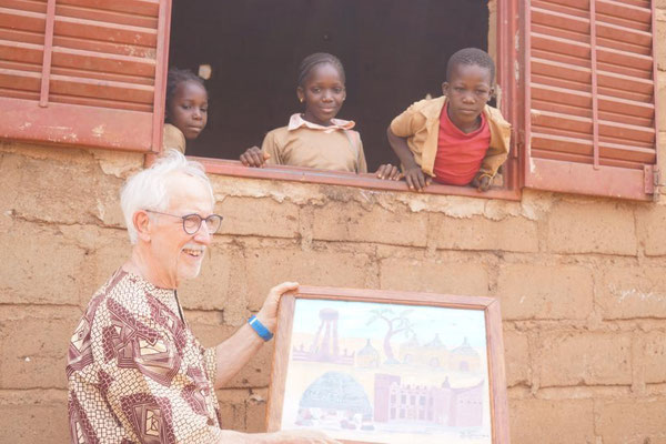Peter Brucker, der Vorsitzende der Mali-Hilfe